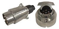 plug/Socket, 7-pin, 12 V