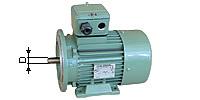 Foot/flange motor, Type B3/5, 1000 R/min