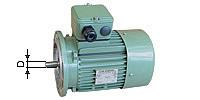 Flange motor, Type V1, 1000 R/min