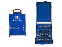 Bit-Set in a metal cartridge, Type 03, 31-pieces